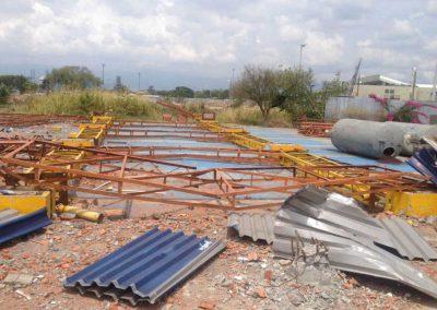 Demolicion Estacion De Bomberos Aeropuerto Cali 1