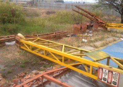 Demolicion Estacion De Bomberos Aeropuerto Cali 2